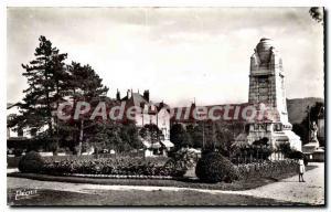 Old Postcard Besancon Les Bains Monument Aux Morts