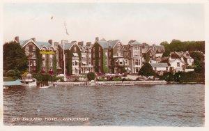 RP; WINDERMERE, England, UK, 1920-40s; Old England Hotel