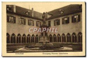 Old Postcard Colmar Unterlinden Museum Kreuzgang