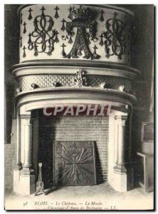 Old Postcard Blois Chateau The Museum of Chimney & # 39Anne Brittany