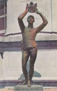 Prince Hal Statue Stratford-on-Avon Antique Postcard