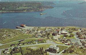 Une Ville Tres Pittoresque Sur Les Bords De La Baie Des Hal Hal, Bagotville, ...