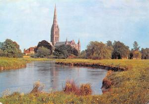 Salisbury Cathedral and River Avon