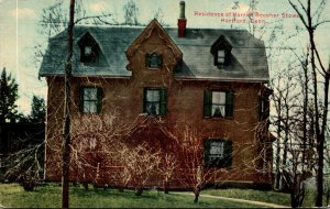 Connecticut Hartford Harriet Beecher Stowe Residence