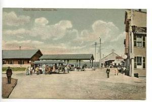 Gardiner ME Railroad Train Station Postcard