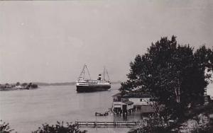 RP, Showing A Steamer/Oceanliner, 1920-1940s