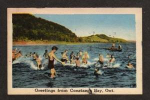 ON Greetings from CONSTANCE BAY ONTARIO Postcard PC