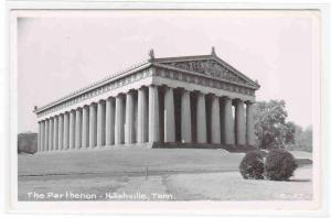 The Parthenon Nashville Tennessee 1950s RPPC Real Photo postcard