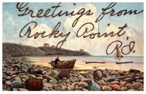 Rhode Island  Greetings from Rocky Point