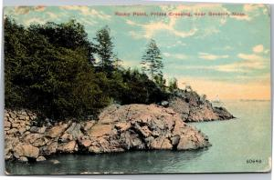 Rocky Point, Prides Crossing Near Beverly Mass c1912 Vintage Postcard G08