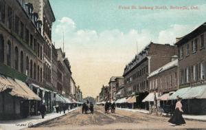 BELLEVILLE , Ontario, Canada, 1900-10s ; Front Street , Looking North