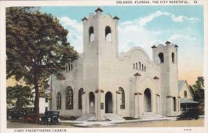 Florida Orlando First Prebyterian Church Curteich