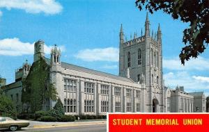 Columbia Missouri~University Of Missouri~Gothic Student Memorial Union~1965 PC