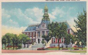 GRAND ISLAND, Nebraska, PU-1949; Hall County Court House