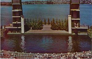 Aqua Theater on Green Lake Seattle Washington WA Pre-Zip cod