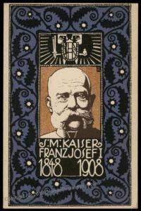 Wiener Werkstaette Nr 160 Artist Josef Diveky 1908 Kaiser Franz Joseph Ann 71194