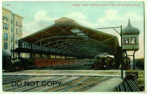 Train Shed Union Depot, Grand Rapids Mich