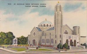 Florida Tarpon Springs Saint Nicholas Greek Orthodox Church 1952