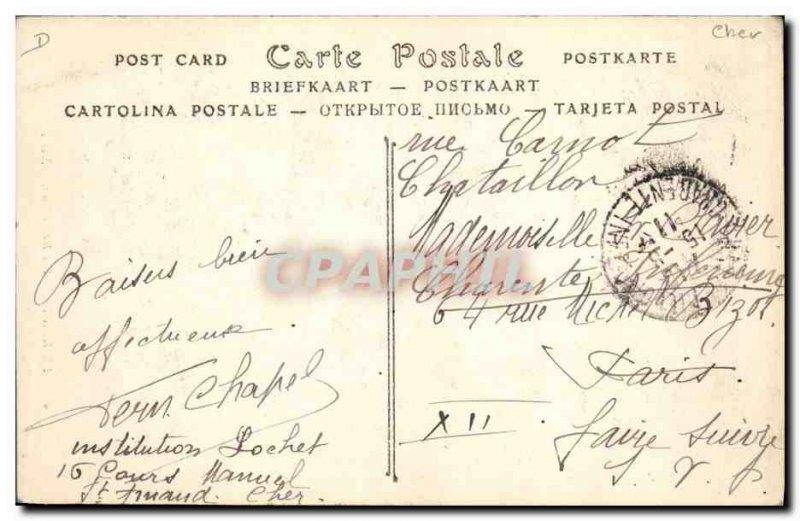 Old Postcard Folklore Berry Berrichon A TOP