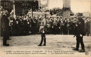 CPA MILITAIRE Paris-Les Fétes de la Victoire (316514)