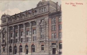Exterior, Post Office, Winnipeg, Manitoba, Canada, 00-10s
