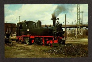 German State Railway Railroad Train DR99.1563 Muegeln East Germany RR Postcard