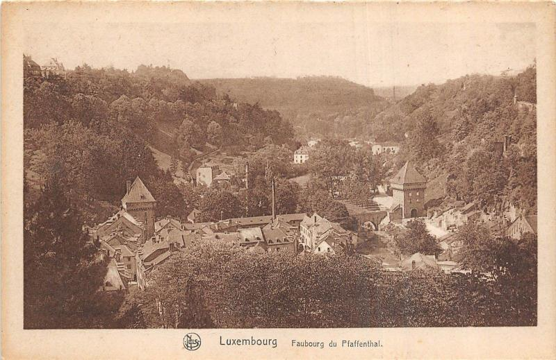 Br35711 Luxembourg Faubourg du Pfaffenthal luxembourg
