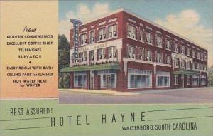 South Carolina Walterboro Hotel Hayne