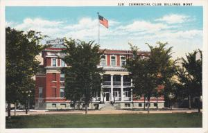 BILLINGS, Montana, PU-1930; Commercial Club