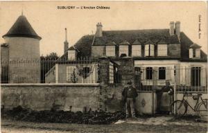 CPA   Subligny - L'Ancien Cháteau    (357605)