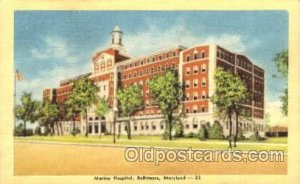 Marine Hospital Baltimore, MD, USA 1947