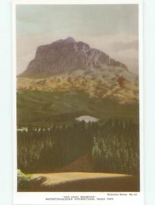 old rppc NICE VIEW Waterton Park - Near Lethbridge Alberta AB W0895