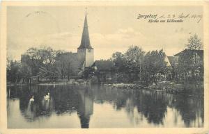 AK Germany Bergedorf Kirche am Billbassin church
