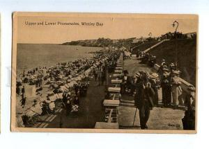 129753 UK England WHITLEY BAY Upper & Lower Promenades OLD PC