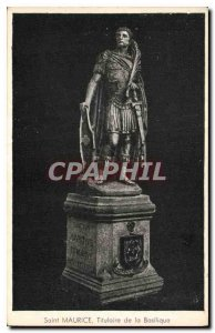 Postcard Old Saint Maurice Holder Basilica