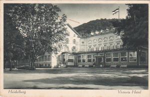 HEIDELBERG, Baden-Wuttemberg, Germany, PU-1935; Victoria Hotel