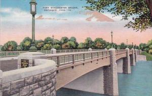 Ohio Defiace Fort Winchester Bridge