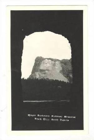 RP Mount Rushmore, South Dakota, 30-50s