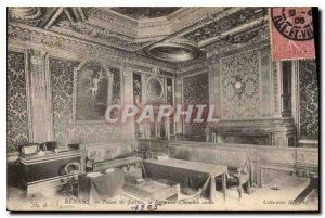 Old Postcard Rennes courthouse the first civil chamber