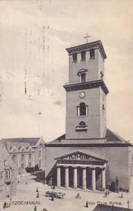 Vor Frue Kirke, Kobenhavn, Denmark, PU-1909