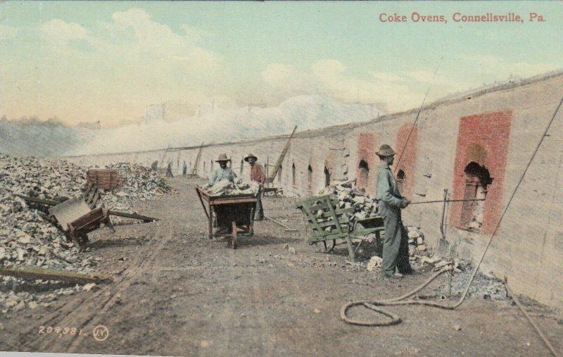 CONNELLSVILLE , Pa , 1900-10s ; Coke Ovens
