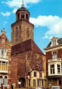 Netherlands Deventer Lebuines Kerk Church Street Car Eglise
