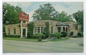 Berry's On The Hill Restaurant Orangeburg South Carolina 1968 postcard