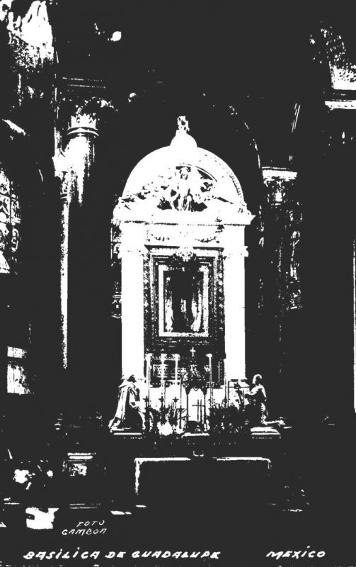 Mexico Basilica de Guadalupe Real Photo