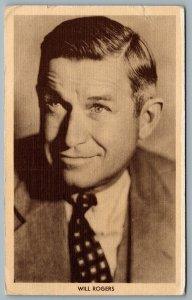 Postcard Claremore OK c1940 Will Rogers Photo The Mason Hotel Radium Bath House
