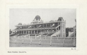 CALCUTTA, India , 00-10s ; Grand STand Horse Race TRack