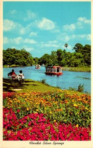 Florida Silver Springs World Famous Glass Bottom Boats 1966