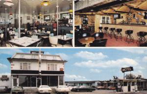 Restaurant and Motel Aux Rideaux Verts Enr., Inside View, ST. ALEXANDRE, Queb...