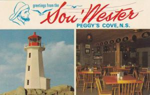 Greetings from the Sou' Wester, Light House and Interior Restaurant, Peggy's ...