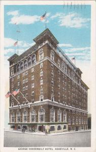 ASHEVILLE, North Carolina; George Vandervilt Hotel, PU-1937